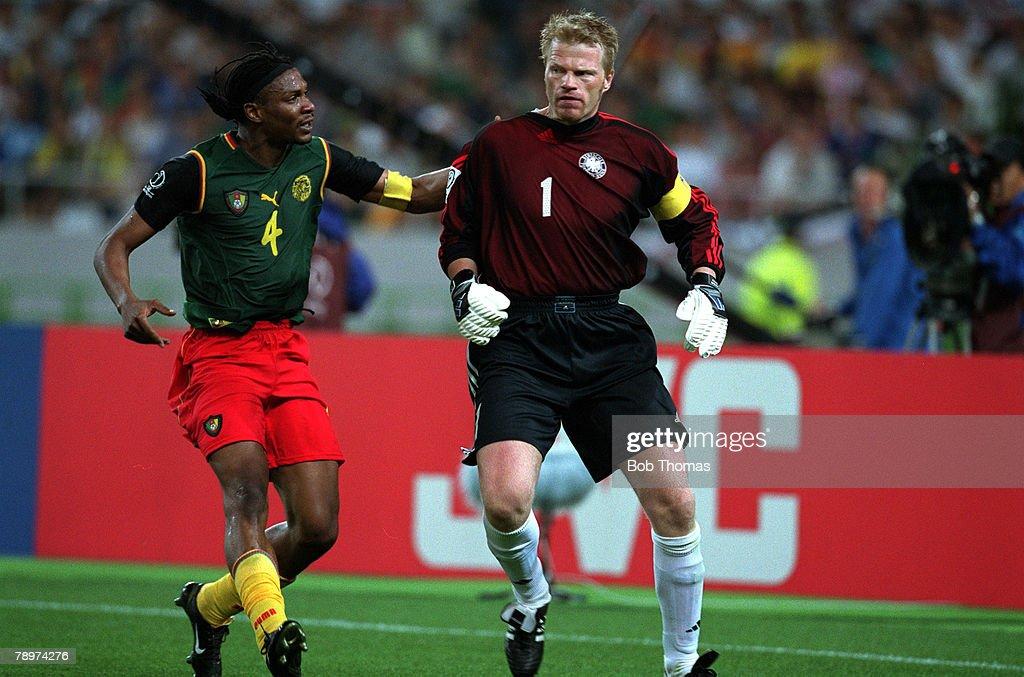 Resultado de imagem para Cameroon v Germany, 2002 FIFA World Cup