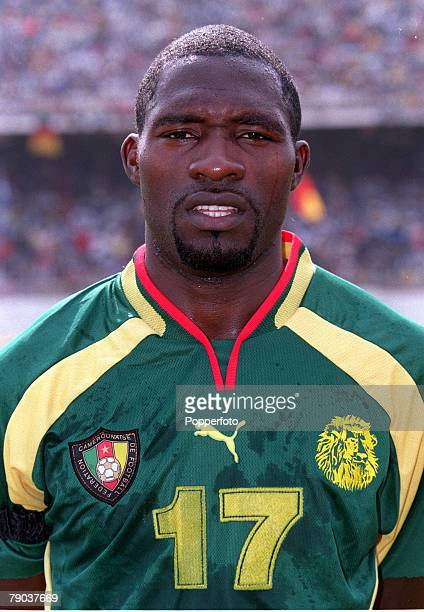 Football 2002 World Cup Qualifier African Second Round Group A Yaounde 25th February 2001 Cameroon 1 v Zambia 0 Cameroons MarcVivien Foe