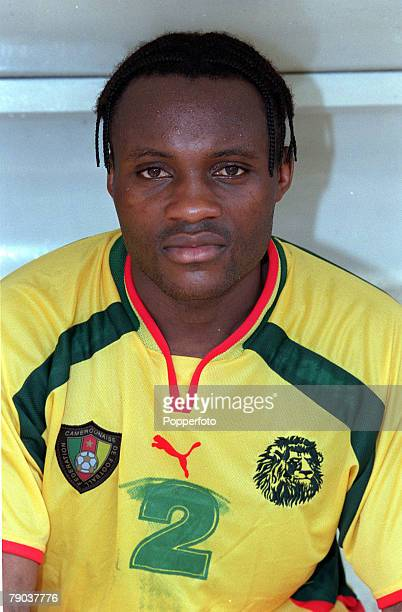 Football 2002 World Cup Qualifier African Second Round Group A Yaounde 25th February 2001 Cameroon 1 v Zambia 0 Cameroons Serge Branco