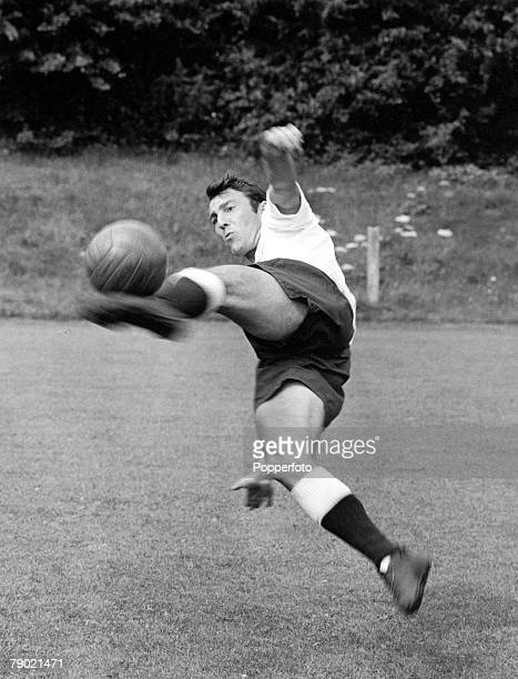 Football 2nd August 1963 PreSeason Photocall Tottenham Hotspur Jimmy Greaves in action