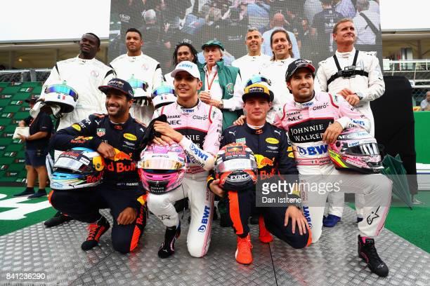 Football and F1 stars including Louis Saha Dida Christian Karembeu Sir Jackie Stewart Francesco Toldo Michel Salgado David Coulthard Daniel Ricciardo...