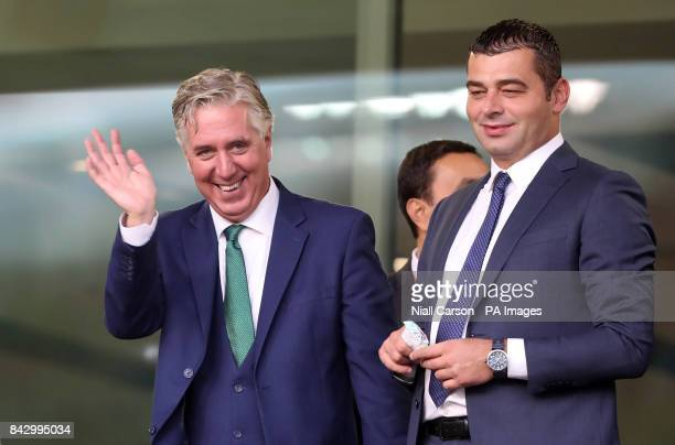 Football Association of Ireland chief executive John Delaney during the 2018 FIFA World Cup Qualifying Group D match at the Aviva Stadium Dublin
