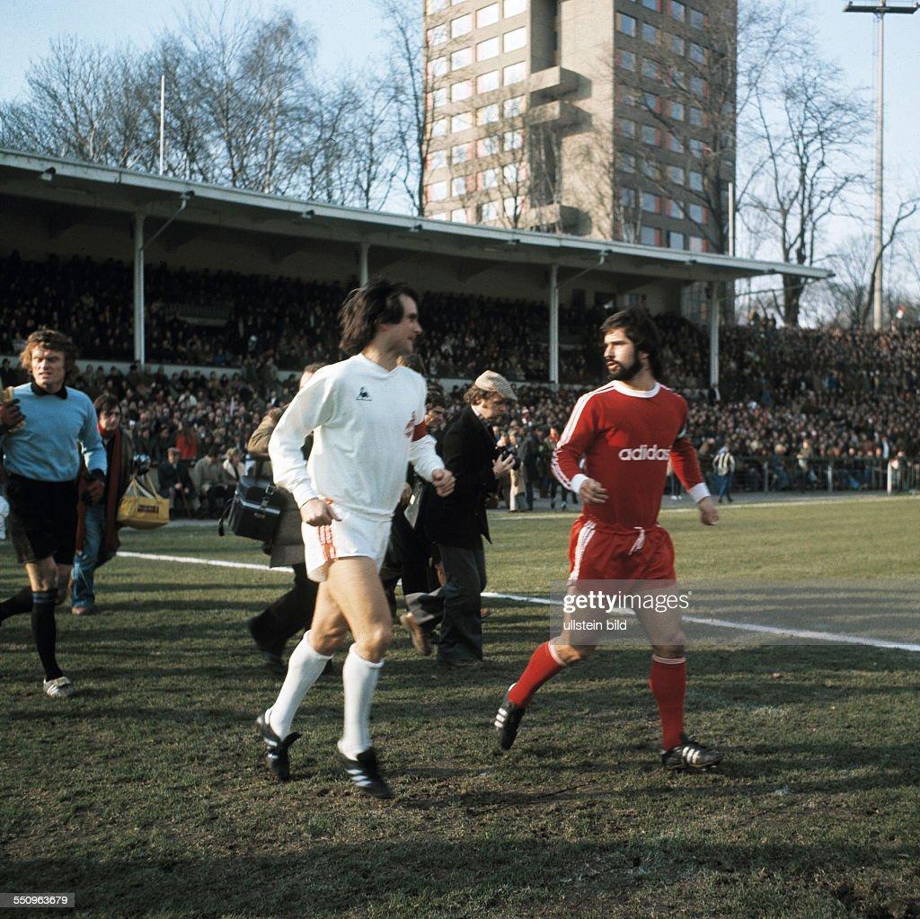 football Bundesliga 1974 1975 Radrennbahn Muengersdorf 1 FC