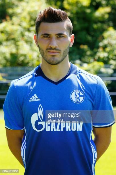 football Bundesliga 2016/2017 FC Schalke 04 team presentation for the game season portrait Sead Kolasinac
