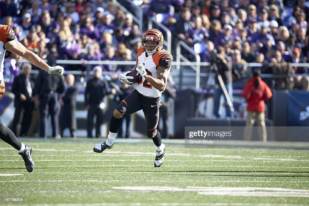 Cincinnati Bengals Marvin Jones (82) in action vs Baltimore Ravens at M&T Bank Stadium. Simon Bruty F122 )