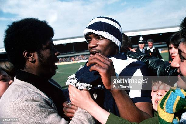 Football Circa 1970's Lawrie Cunningham a cult figure at West Bromwich Albion