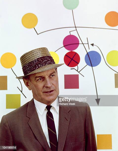 Closeup portrait of Cleveland Browns coach Paul Brown during photo shoot Cleveland OH 7/18/1962 CREDIT Richard Meek