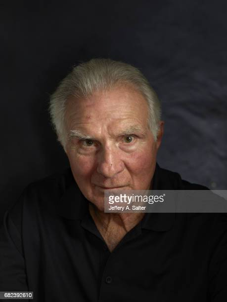 Closeup portrait of former Miami Dolphins linebacker Nick Buoniconti posing during photo shoot at home Buoniconti who played 14 seasons for the...