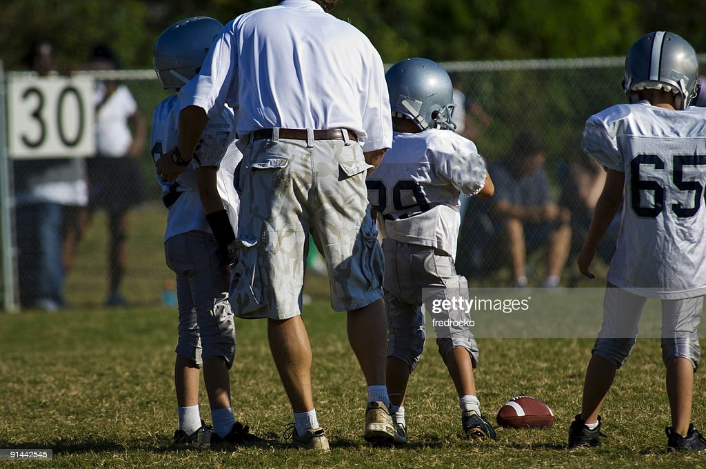 American Football : Stock Photo