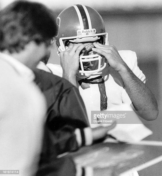 AUG 4 1984 AUG 5 1984 JUL 10 1985 Football Denver Broncos John Elway cofussed by the system