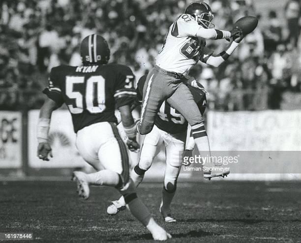 SEP 23 1983 OCT 24 1983 Football Denver Broncos