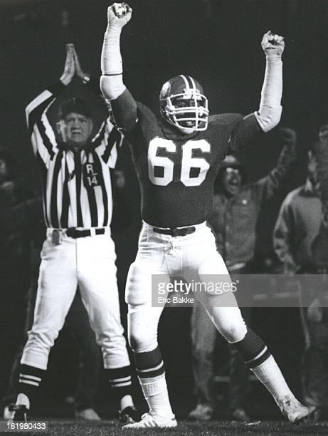 NOV 20 1983 NOV 21 1983 Football Denver Broncos