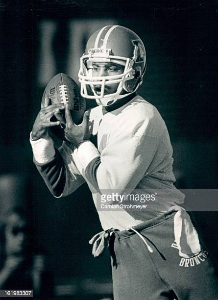 NOV 18 1984 DEC 20 1984 Football Denver Broncos The wide receivers were about the only group of players who got much of a workout today as the...