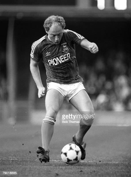 Football Division One 13th November 1982 Ipswich Town 1 v Manchester City 0 Ipswich Town's Alan Brazil