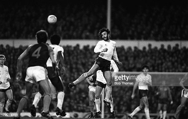 Football Division One 20th November 1982 Tottenham Hotspur 2 v West Ham United 1 Tottenham's Ricky Villa
