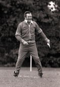 Football England manager Don Revie takes charge of an England training session