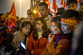 VNM: Vietnamese Fans Celebrate In Hanoi After ASEAN Football Federation Victory