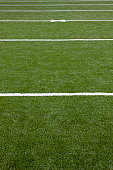 Football field, close-up