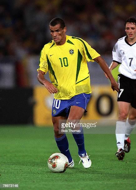 Football FIFA 2002 World Cup Final Yokohama Japan 30th June 2002 Brazil 2 v Germany 0 Brazil's RivaldoCredit POPPERFOTO/JOHN McDERMOTT