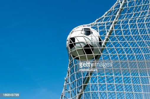 Ball goes in the net