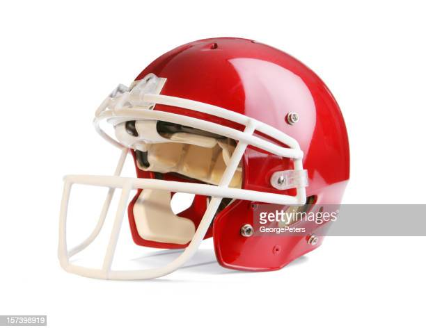 Football Helmet with Clipping Path