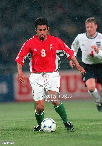 Football International Friendly Budapest 28th April Hungary 1 v England 1 Hungary's Istvan Pisont