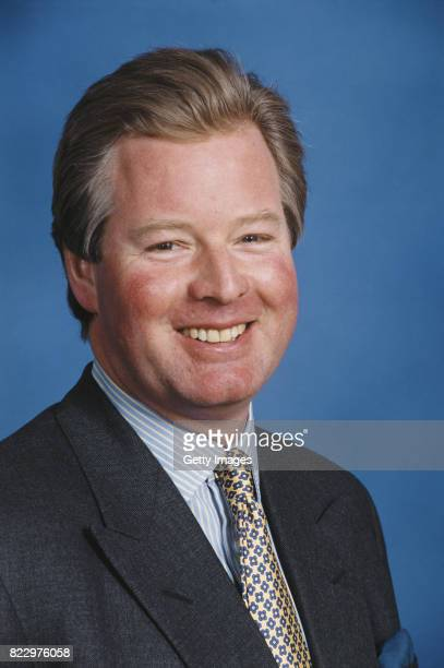 Football League Chairman David Sheepshanks pictured at the Soccerex Convention at Wembley in April 1997 in London England