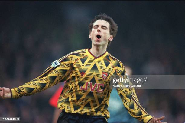 Football League Cup Crystal Palace v Arsenal Alan Smith celebrates his goal for Arsenal