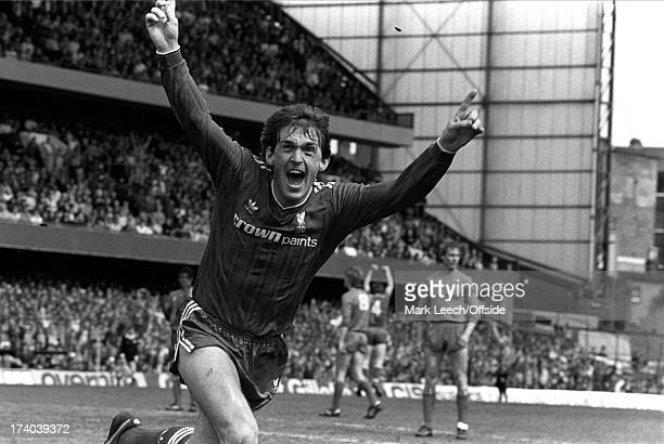 Football League Division One Chelsea v Liverpool Kenny Dalglish celebrates after scoring the winning goal for Liverpool