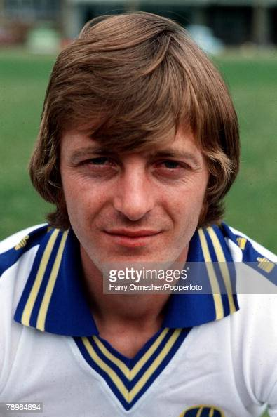 Football Leeds United FC Photocall A portrait of Allan Clarke