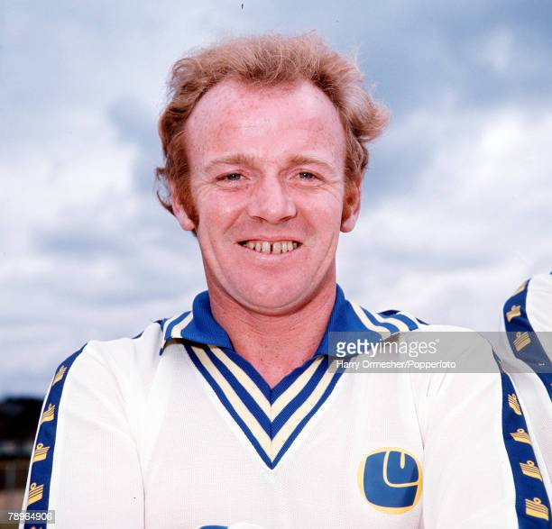 Football Leeds United FC Photocall A portrait of Billy Bremner