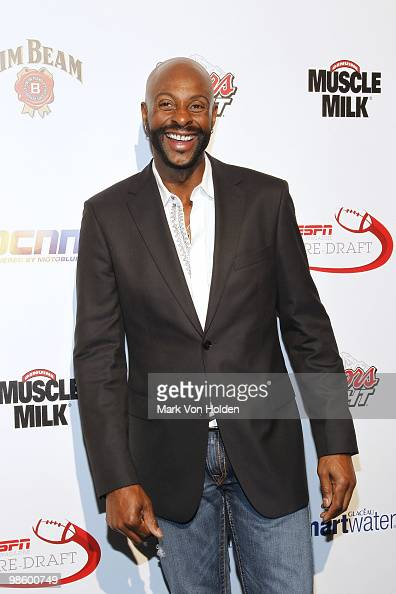 Football legend Jerry Rice attends ESPN the Magazine's 7th Annual PreDraft Party at Espace on April 21 2010 in New York City