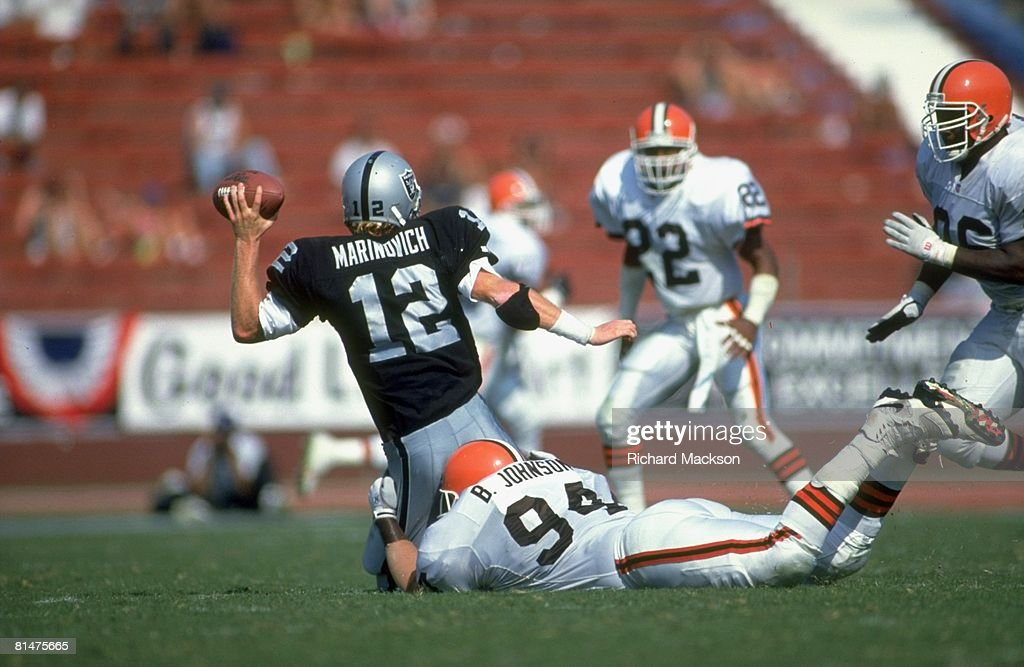 football-los-angeles-raiders-qb-todd-mar