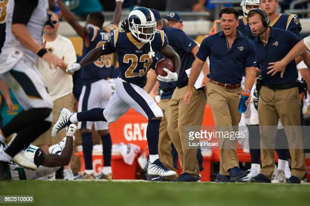 Los Angeles Rams Nickell RobeyColeman in action vs Jacksonville Jaguars at EverBank Field Jacksonville FL CREDIT Laura Heald