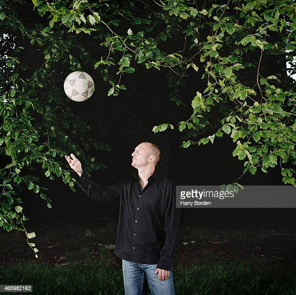 Football manager and former player Ian Holloway is photographed on May 11 2004 in London England