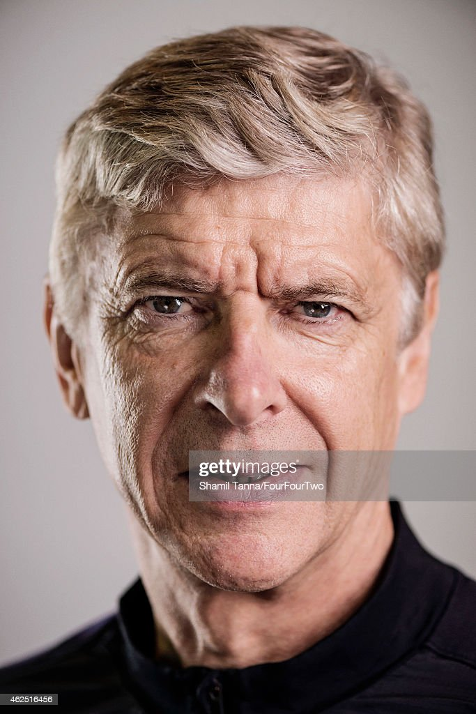 Football manager Arsene Wenger is photographed for FourFourTwo magazine on October 18, 2012 in London, England.