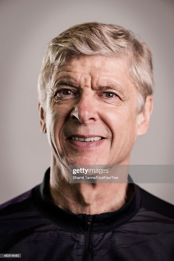 Football manager <a gi-track='captionPersonalityLinkClicked' href=/galleries/search?phrase=Arsene+Wenger&family=editorial&specificpeople=171184 ng-click='$event.stopPropagation()'>Arsene Wenger</a> is photographed for FourFourTwo magazine on October 18, 2012 in London, England.