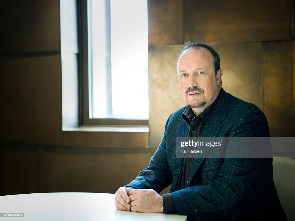 Football manager Rafa Benitez is photographed for Laf magazine on March 26, 2013 in London, England.