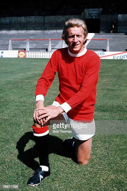 Football Manchester United's Denis Law poses for the camera