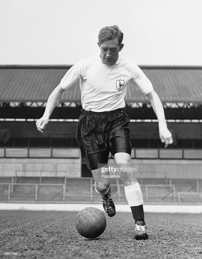 Football March 1958 Tottenham Hotspur s Danny Blanchflower