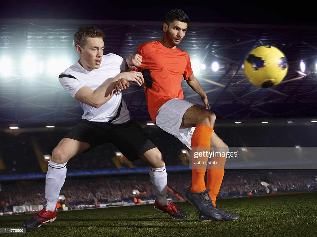 Football Match : Stock Photo