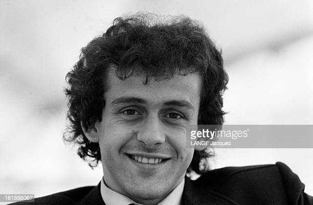 Football Michel Platini Captain Of The Juventus