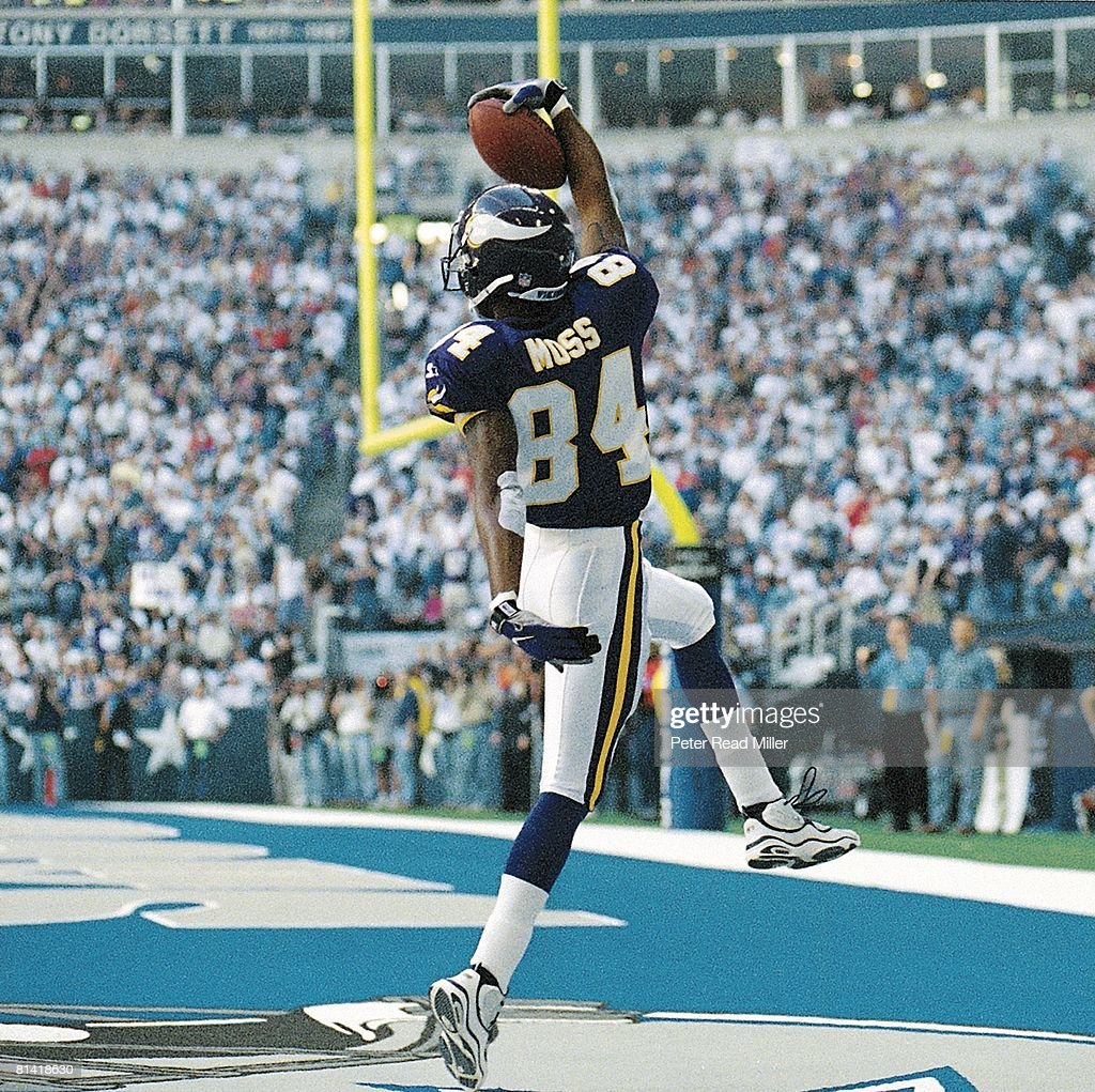 Randy Moss Getty Images