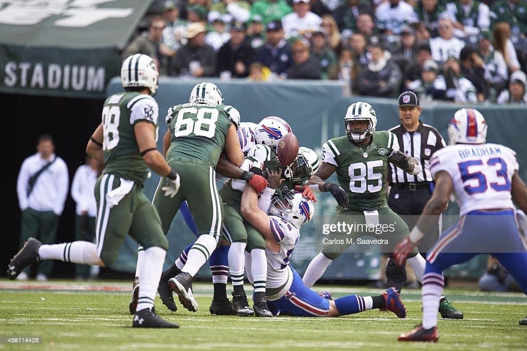 New York Jets vs Buffalo Bills : Fotografia de notícias