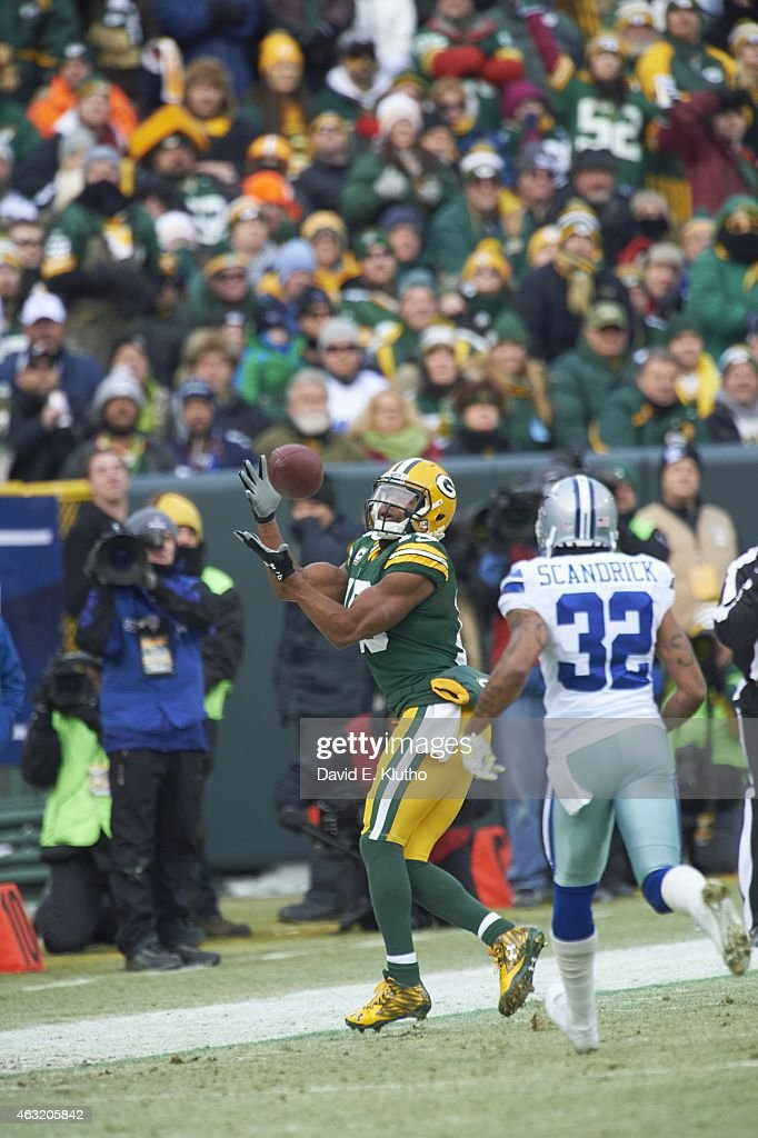Randall Cobb Packers Catch