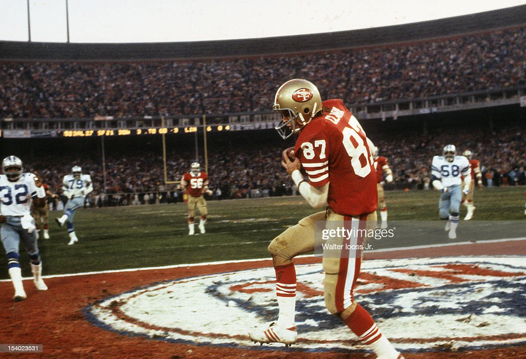 faed2892d2d San Francisco 49ers Dwight Clark (87) in action