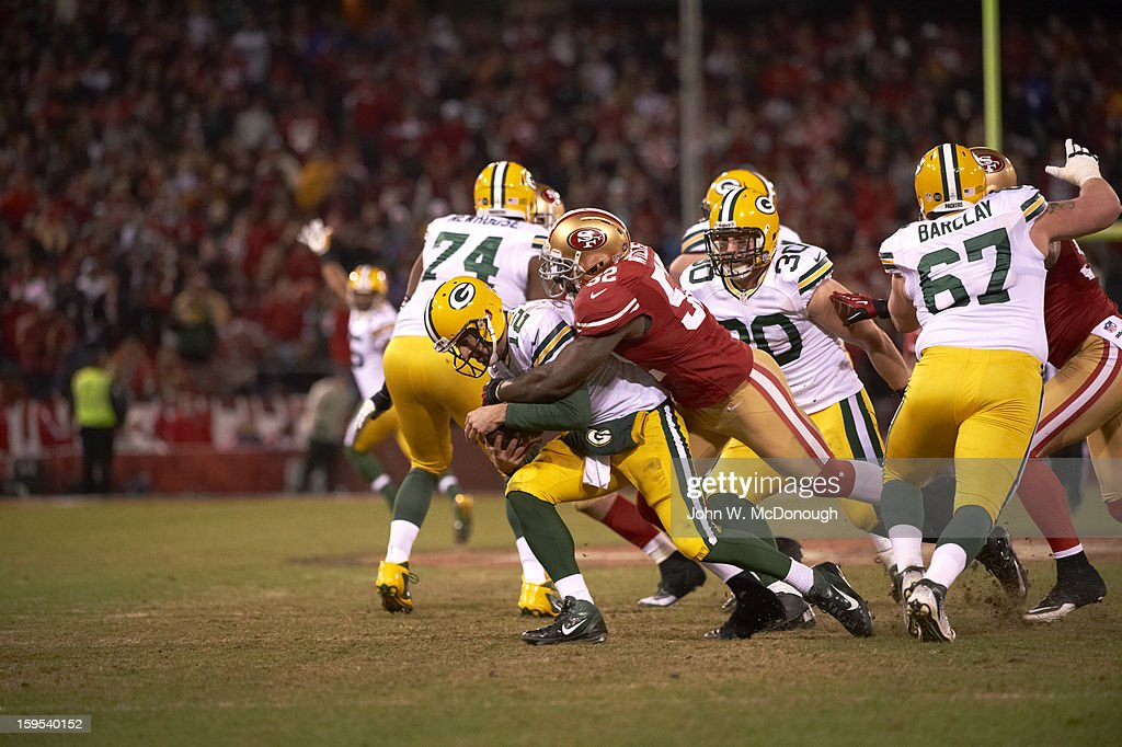 San Francisco 49ers vs Green Bay Packers, 2012 NFC Divisional Playoffs
