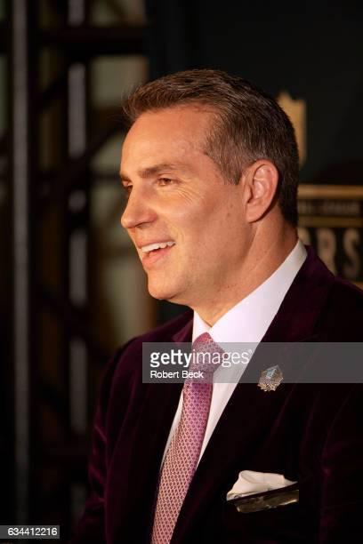 NFL Honors Closeup of former NFL QB Kurt Warner during award ceremony at Wortham Theater Warner is being inducted into the Pro Football Hall of Fame...