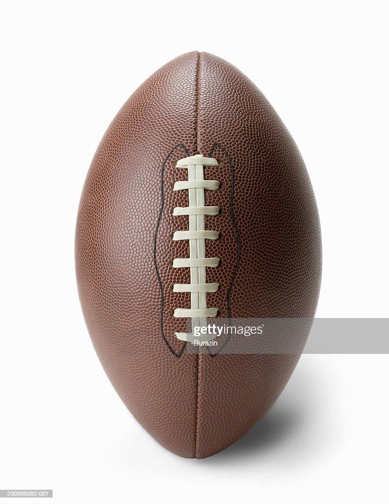 Football on white background