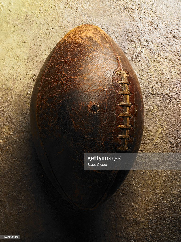 A football : Stock Photo